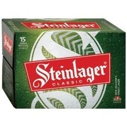 Picture of Steinlager Classic 15pk Bottles 5% 330ml
